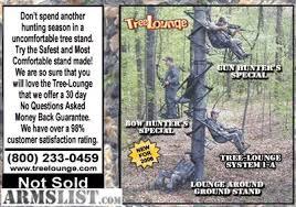 armslist for sale deer stand for shotgun