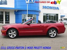 2008 Black Mustang Gt 2008 Dark Candy Apple Red Ford Mustang Gt Cs California Special