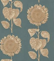 single sun flower wallpapers palladio sunflower dviwpa103 sanderson wallpapers a large