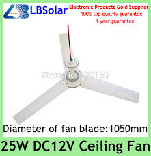 Solar Ceiling Fans by Lbsolar Diameter 1050mm 25w Mini 12v Dc Solar Ceiling Fan For Home
