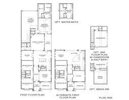 www floorplan 1809 plan floor plan at tucker hill 46 homesites in mckinney
