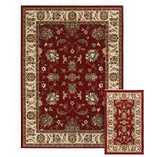 shop oriental weavers of america legacy red rectangular indoor