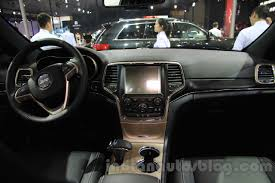 jeep grand cherokee dashboard limited jeep grand cherokee u2013 2015 chengdu motor show