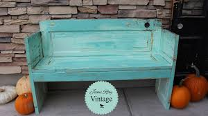 how to build a bench out of an old door diy bench jami ray