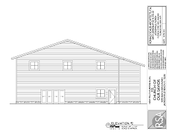 floor plans and elevations for prospective fellowship hall admin