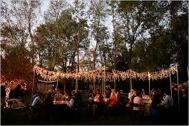 Backyard Lighting Ideas Triyae Com U003d Lighting Ideas For Backyard Wedding Various Design