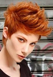 copper and brown sort hair styles 15 cool funky short hair styles short hairstyles 2016 2017