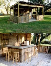 i would love love to have this outdoor bar in my backyard my
