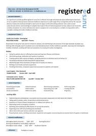 Nurse Practitioner Resume Examples Examples Of Registered Nurse Resumes Registered Nurse Resume