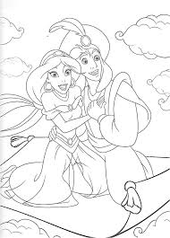 Coloriage De Jasmine Et Aladin 283 Best Aladdin Images On Pinterest
