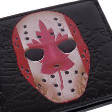 mens masks vintage goalie masks mens wallet accessory insanity