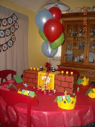 mario birthday party care free jen mario birthday party