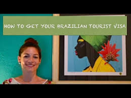 how to get a brazil tourist visa youtube