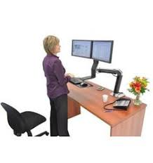 dual monitor stand up desk zero gravity tables offers the most monitor setup configurations to