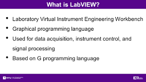 introduction to labview overview objectives background materials