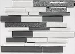 Best Backsplash Tile Images On Pinterest Mango Backsplash - White glass backsplash tile