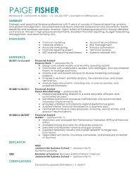 neoteric ideas finance resume examples 6 8 amazing cv resume ideas