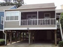 arbor house 12 myrtle beach two story house on stilts shore
