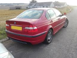 bmw 316i e46 imola red m sport breaking for spares partas saloon