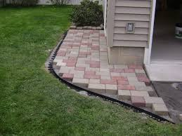 Cost Paver Patio Fresh Diy Paver Patio Edging 17791