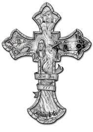 crucifix tattoo drawing cross tattoo design by lunij88 入れ墨