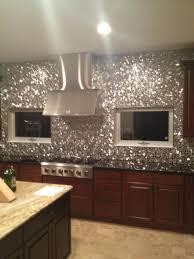 Steel Tile Backsplash by River Rock Pattern Mosaic Stainless Steel Tile Emt 110 Sil Sm