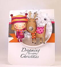 penny black mimi u0027s winter friends christmas paper crafts
