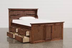 Bookshelf Drawers Sedona Full Bookcase Bed W Single 4 Drawer Captains Unit Living