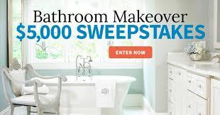Win A Bathroom Makeover - bhg 5 000 sweepstakes 2017 bhg com 5kfall