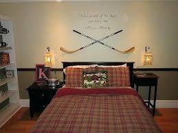 unique bedroom decorating ideas hockey bedroom decorating ideas trendy inspiration hockey room