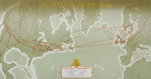United Airlines American Airlines by Route Map American Airlines United States And Europe Http