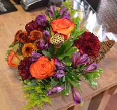 cornucopia arrangements fresh flower cornucopia in burlington vt the bloomin dragonfly