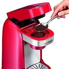 Alaska travel coffee maker images Coffee maker single server personal k cup red dorm kitchen office jpg