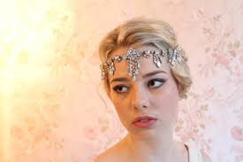 1920 hair accessories hair accessory 1920s bridal headpiece vintage style 1920s
