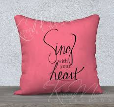 Heart Pillow Design