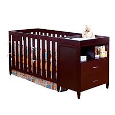 Crib Bed Combo Bsf Baby Convertible Crib N Changer Combo