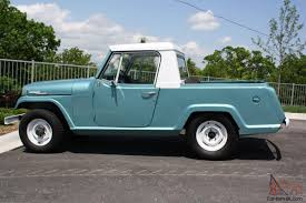 willys jeepster commando kaiser jeep jeepster commando pickup 225v6 new paint ownership