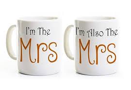 wedding gift mugs mrs and mrs coffee mugs wedding gift