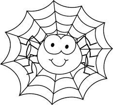 Cute Spider Coloring Pages Getcoloringpages Com Spider Web Coloring Page