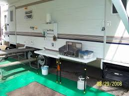 rv cuisine rv cuisine he built an outdoor kitchen that mounts to the side of