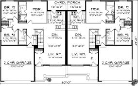3 bedroom duplex marvelous idea 6 duplex house plans 3 bedrooms duplex country style
