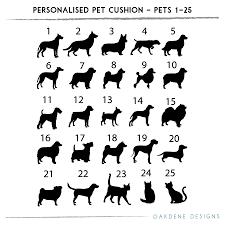 Cushion Pets Personalised Pet Cushion By Oakdene Designs Notonthehighstreet Com