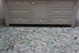 island pebble floor modern bathroom other by
