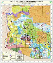 map of az maps arizona state land department