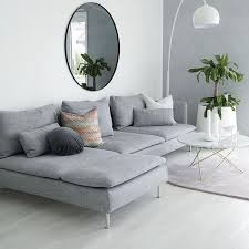 Ikea Gray Sofa by Best 25 L Shaped Sofa Ideas On Pinterest L Couch White L
