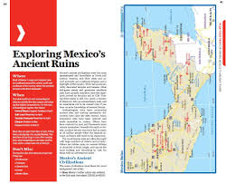 Map Of Michoacan Mexico by Lonely Planet Mexico Travel Guide Lonely Planet John Noble