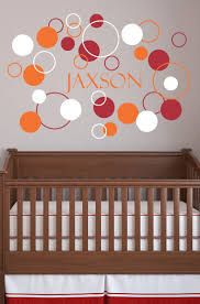 Vinyl Wall Decals Vinyl Wall Decals Dots And Circles Girls