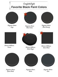 design guide the best black paint colors paint colors paint