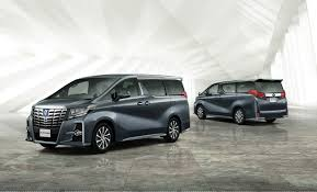 toyota new car 2015 toyota unveils new alphard and vellfire minivans in japan