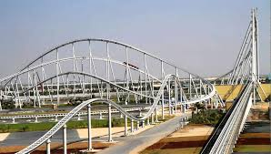 in abu dhabi roller coaster to ride the most speedy roller coaster in the in abu dhabi